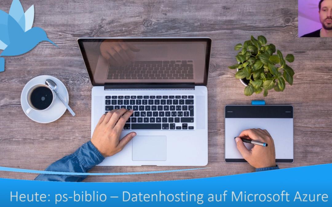 ps-biblio mit Microsoft Azure