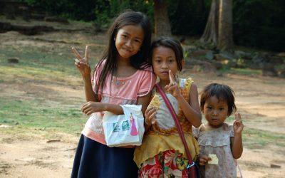 Eine Bibliothek für das Women Resource Center in Siem Reap